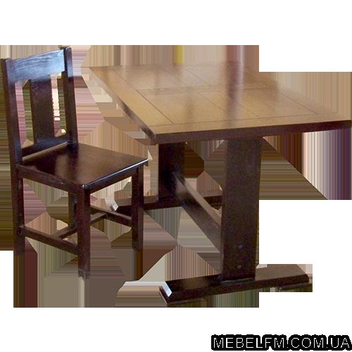 Купить Комплект мебели Жан из массива дуба