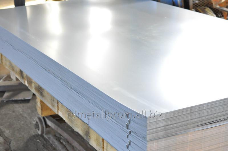 Лист оцинкованный стальной толщина 2 мм 1000х2000