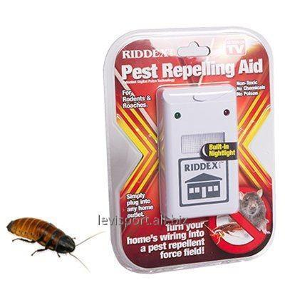 Отпугиватель тараканов грызунов- Riddex-защита от насекомых