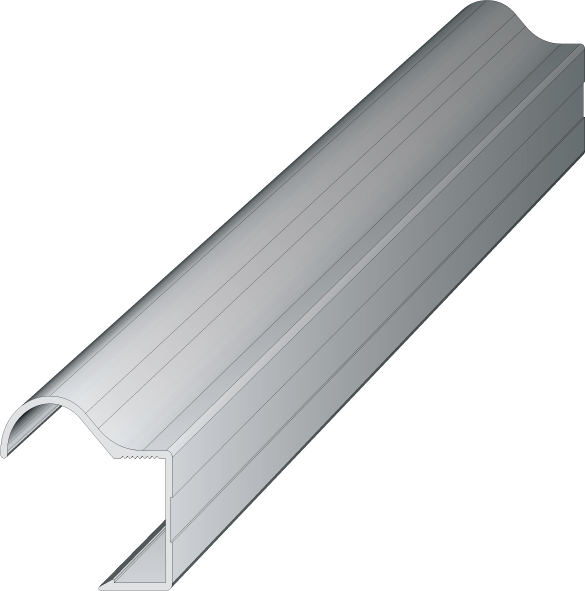 Buy Aluminum profile-pen AL-R-18