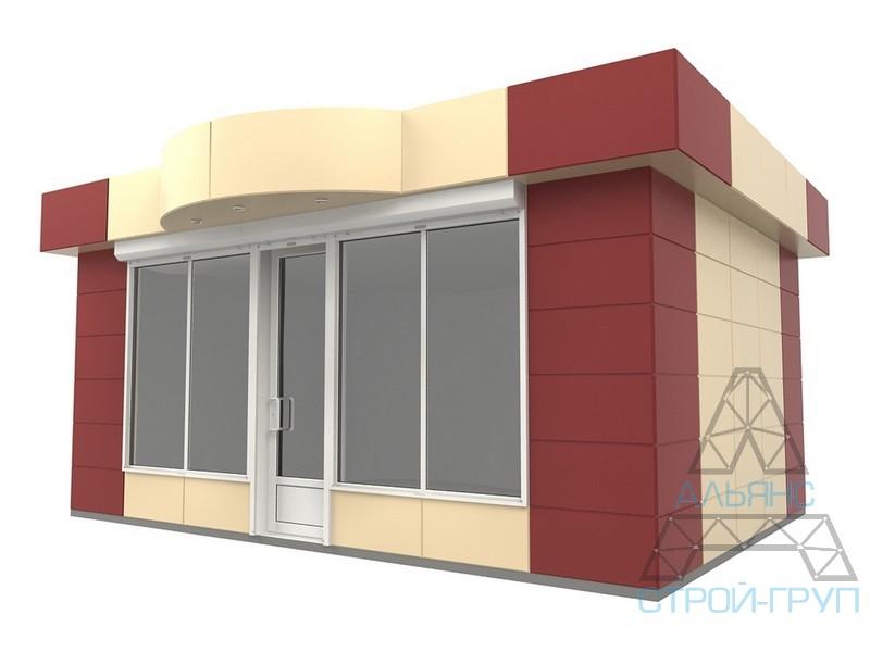 Павильоны торговые из металлоконструкций. Торговый павильон 31