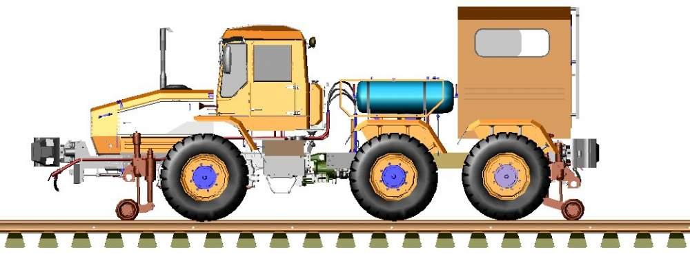 Мотовоз ММТ-3 маневровый
