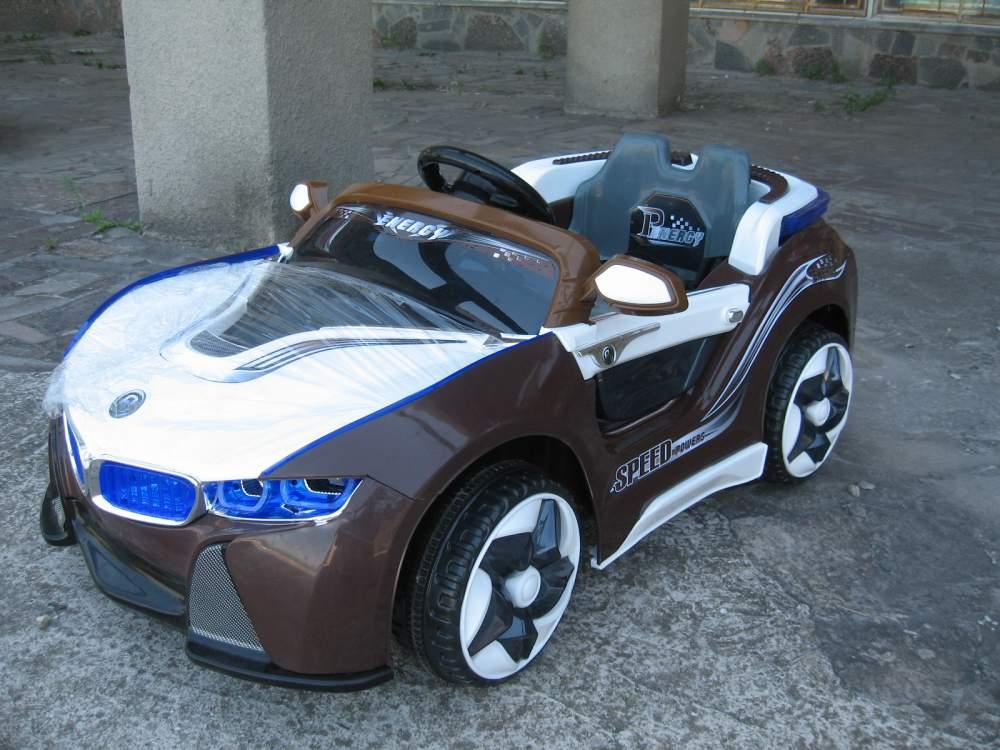 Купить Детский электромобиль BMW i8 VISION 12V, HL 718 коричневый