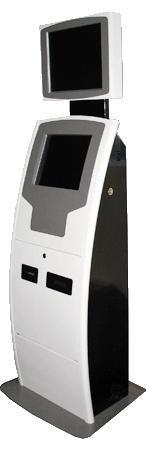 Купить Терминал платежный АРТ-03 с двумя мониторами