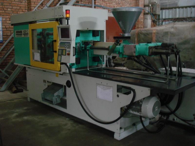 Buy Automatic molding machine of fashions. ARBURG 420C 1000 - 250 Selogica
