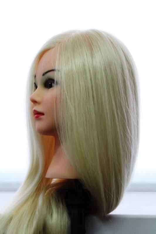 Купить голову с натуральными волосами для причесок