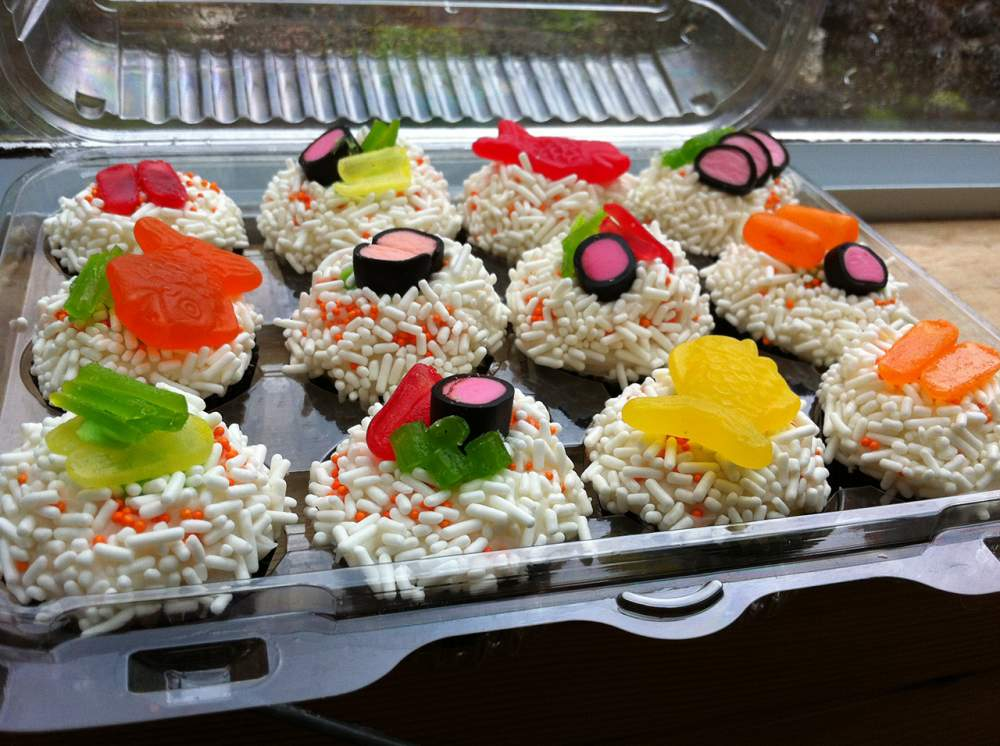Buy Packaging for sushi, production, production