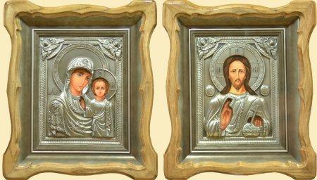 Ікони вінчальні №26 - Казанська Божья Матерь ( Вінчальна пара ... e065b71643643