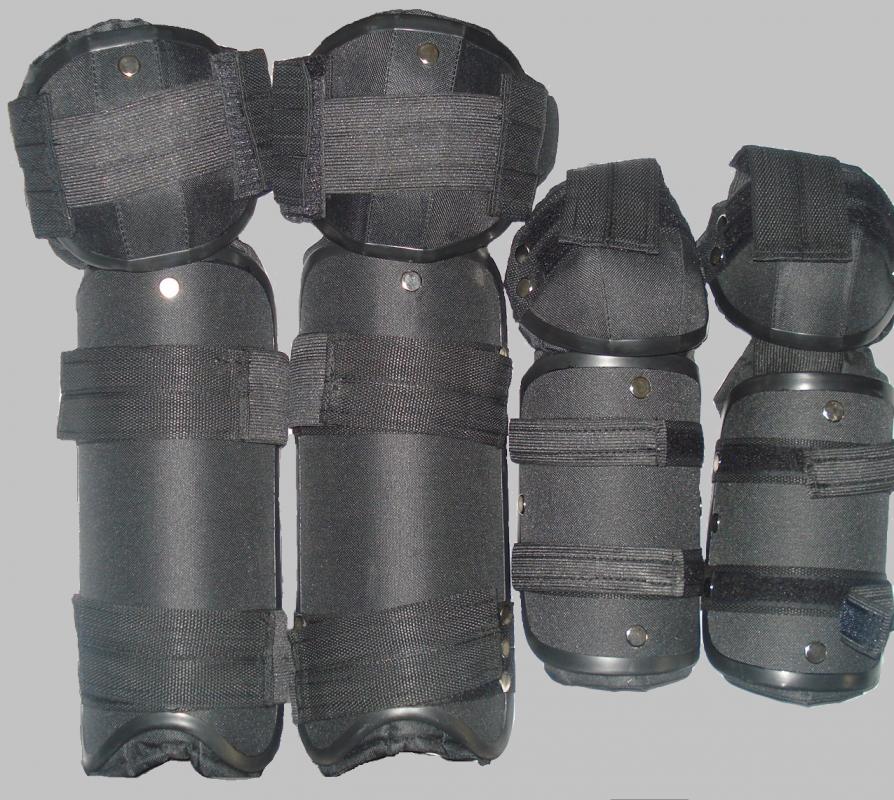 Щитки для защиты рук и ног (налокотники, нарукавники)