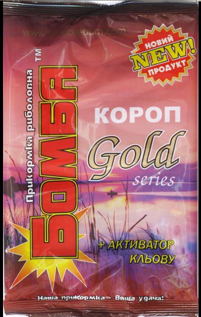 """Купить Прикормка """"Бомба"""" Карп Gold 0,9 кг."""