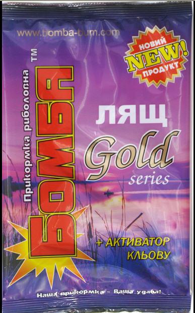 "Купить Прикормка ""Бомба"" Лещ Gold 0,9 кг."