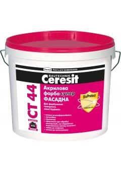 Купить СТ-44 Краска в\э Ceresit фасадная акриловая СУПЕР 10л.