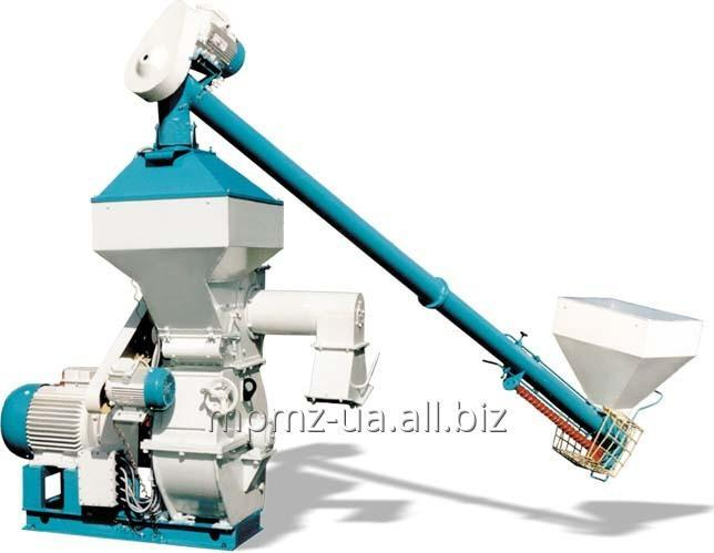 Crusher DMB-M for milling all kinds of feed grain materials and grain mixtures