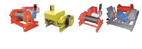 Лебедка электрическая Т-66Е,   Лебедки электрические ТЛ-14А,   Лебедки электрические У5120.6,  Лебедки электрические  ТЛ-9А,   Лебедки электрические ТЭЛ-5