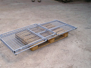 Buy The container pallet mesh folding with the cover