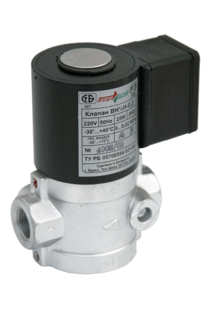Buy Valves the electromagnetic on-off muftovy normally closed VN series - Du 15, 20, 25, 40, 50 mm, Ru 0... 6 kgfs/cm ² (bar)