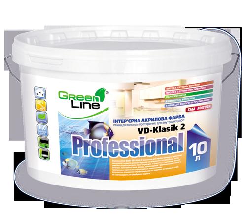 Водоэмульсионная краска Professional VD-Klasik 2