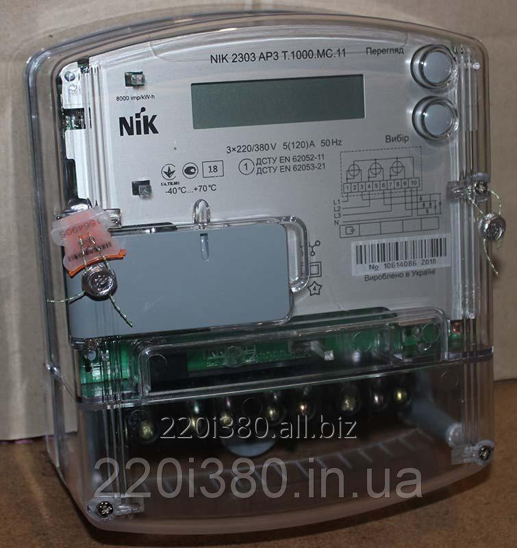 Купить Электросчетчик NIK 2303 АР3Т.1000.МС.11 (многотарифный)