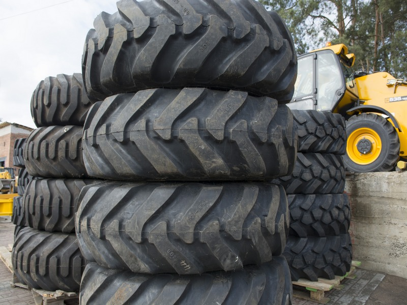 Tires for JCB