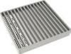 Решетка стержневая гладкая для трапа 142 с верхней частью 200х200 мм. из нержавеющей стали AISI 304