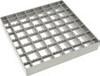 Решетка сетчатая гладкая для трапа 142 с верхней частью 200х200мм из нержавеющей стали AISI 304, квадрат