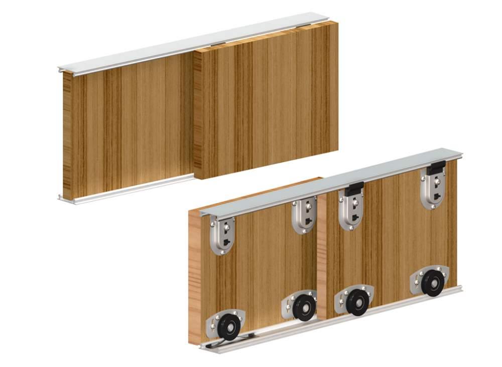 Раздвижные системы для шкафов купе, особенности и строение.
