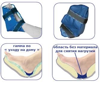 Бандаж против пролежней голеностопного сустава