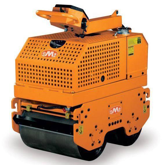 Buy Two-roller manual vibroskating rink of GMS RL 2000
