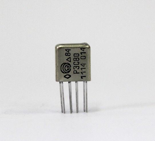 Купить Реле электромагнитное слаботочное типа РЭС 80 66 7114 3400 ДЛТО.455.001 ТУ