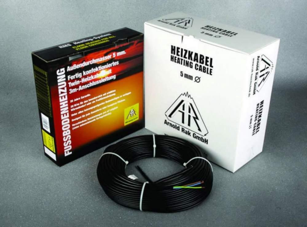 Подогрев потолков греющим кабелем A.Rak SIPC 6101-20