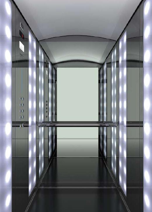 Кабины лифтовые Artmis