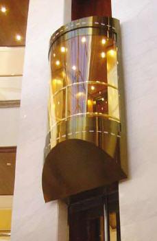 Кабины лифтовые Thetis luxury