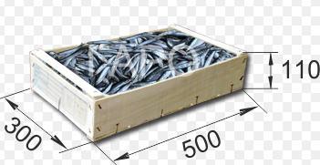 Купить Ящики из шпона для рыбы