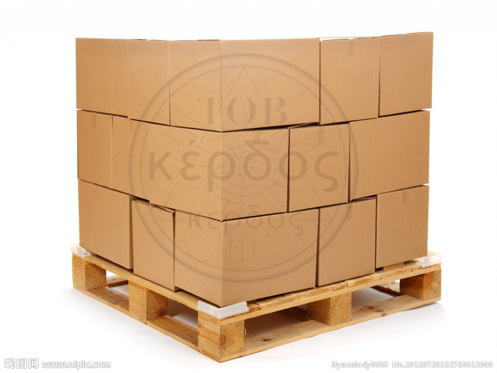 Buy Pallet boxes from a corrugated cardboard