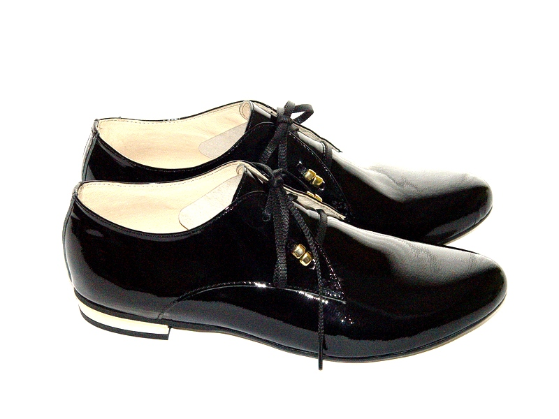 Женские Оксфорды, с чем носить эти туфли? 3 фото