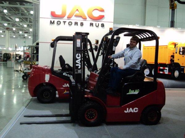Купить Электропогрузчик JAC 1,5т серии Европа подъем 4,8 метра