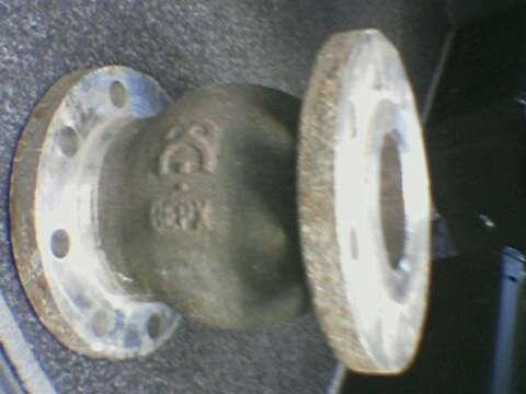 Клапан обратный 19нж63бк Ду50 -Ду150 Ру40