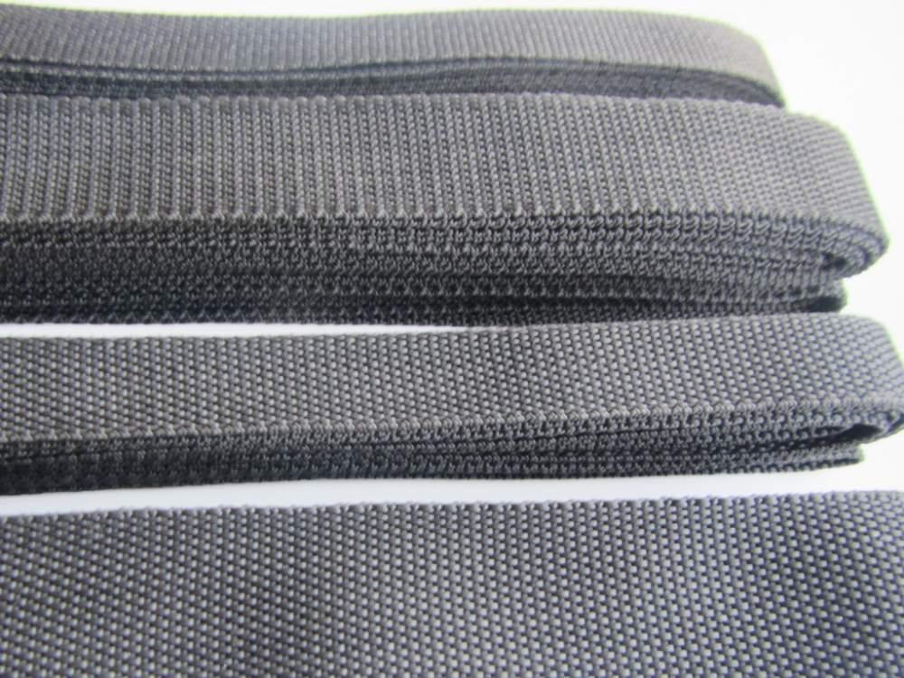 Лента ременная 4 см черная
