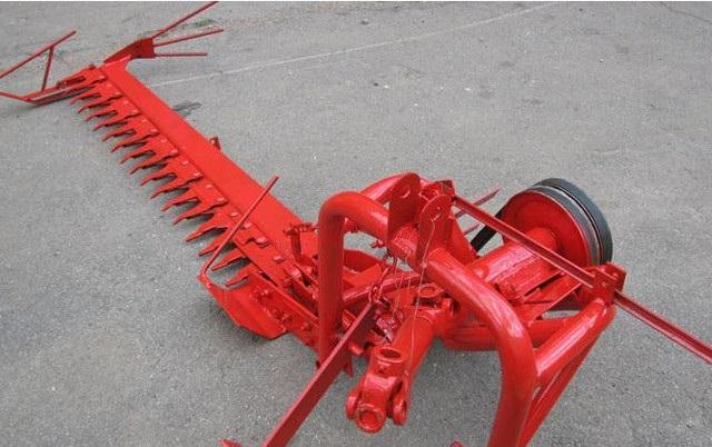 Купить Косилка пальцевая для мини тракторов КТП-1,5 с приводом ножей Шумахер
