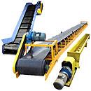Buy The conveyor is tape, scraper kovshovy, tubular