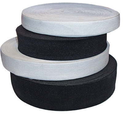 Резинка для одежды 2 см черная