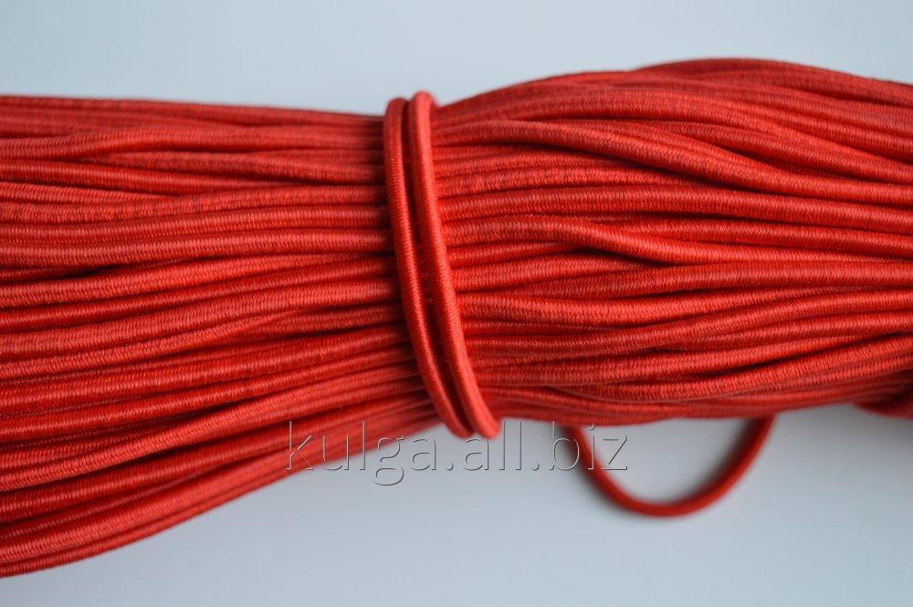 The elastic band is hat red