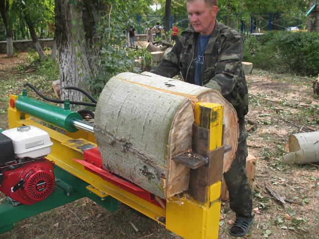 Гидравлический колун для дров своими руками фото