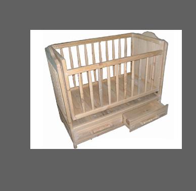 Кроватки деревянные детские