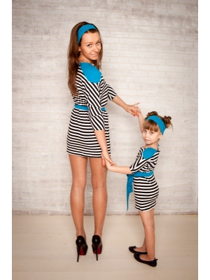 e5cd2e04facf8e Дитяче трикотажне плаття в смужку купити в Херсон