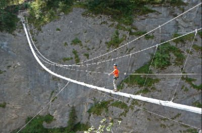Купити Підвісні мости,спуск. Підвісні мости троллеи