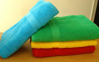 Полотенца кухонные махровые
