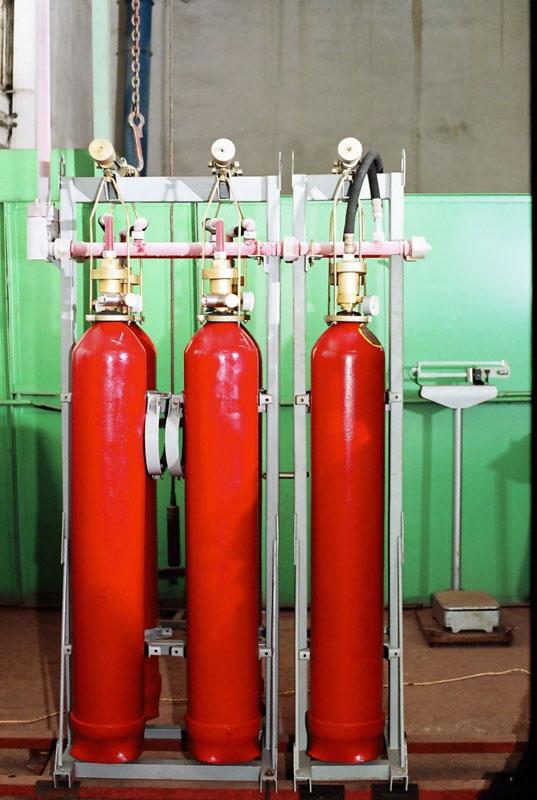 Купить Блочные и модульные системы автоматического газового пожаротушения