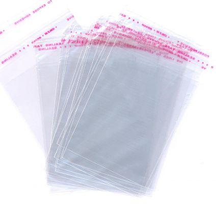 Купити Пакети поліпропіленові 35див*45див із клейкою стрічкою