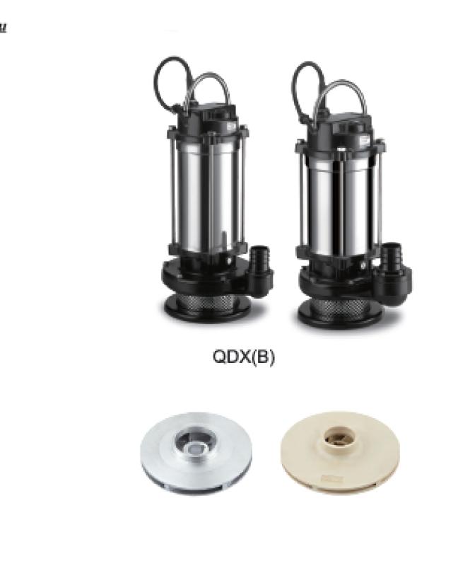 Дренажный погружной нержавеющий насос Opera QDX 1.5-16-0.37 FB